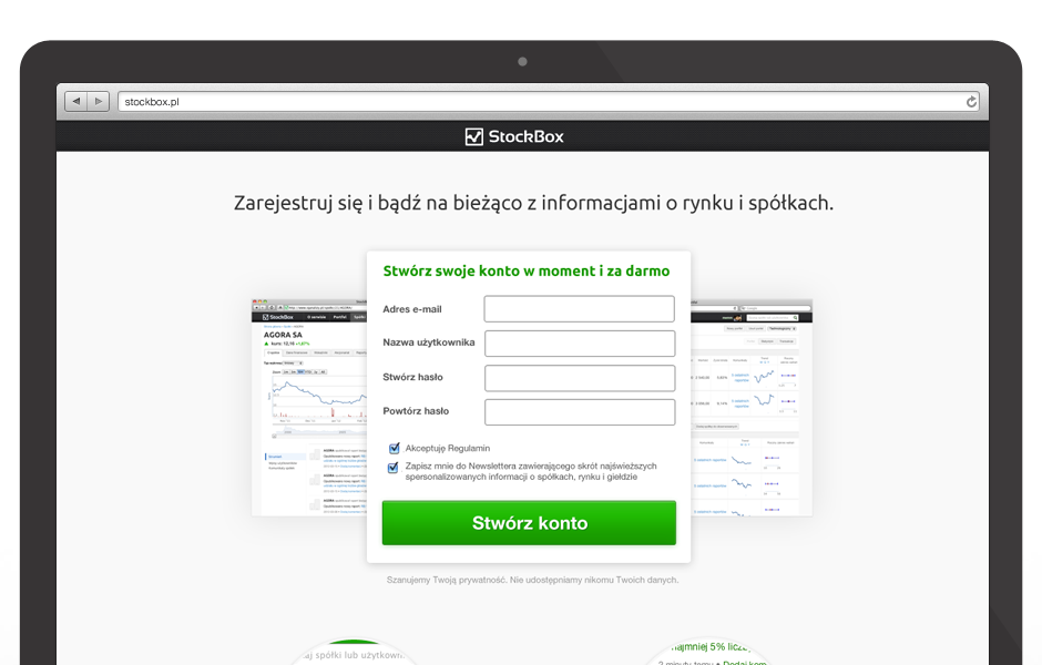 Real-time, free social network for investors and traders